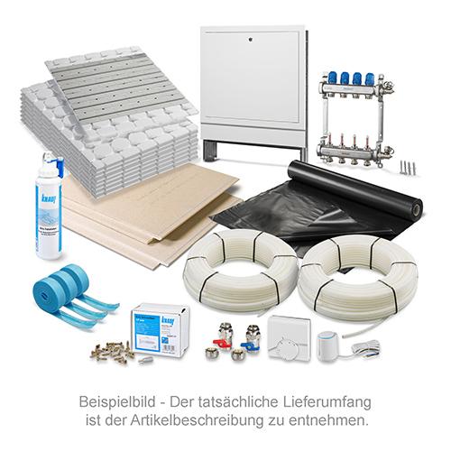 fu bodenheizung trockenbau incl trockenestrich 50 m2. Black Bedroom Furniture Sets. Home Design Ideas